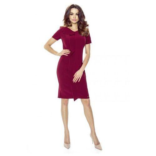 Sukienka z oryginalną a'la zakładką z przodu, M47303_1_s