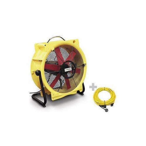 Wentylator TTV 4500 HP + Przedłużacz Profi 20 m / 230 V / 2,5 mm²
