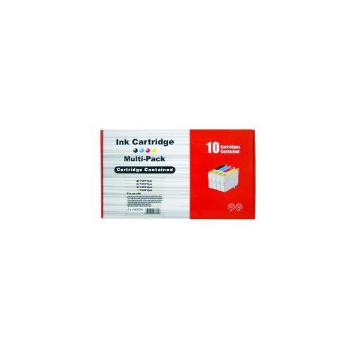 Tusze zamienniki Vanke do Epson T1291-T1294 XL - CMYK (komplet 10 szt, 150 ml) (6959080033856)