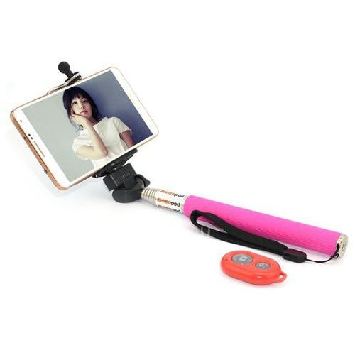 Gearbest Cl-70 portable camera selfie monopod pole with bluetooth rc self timer and phone stand