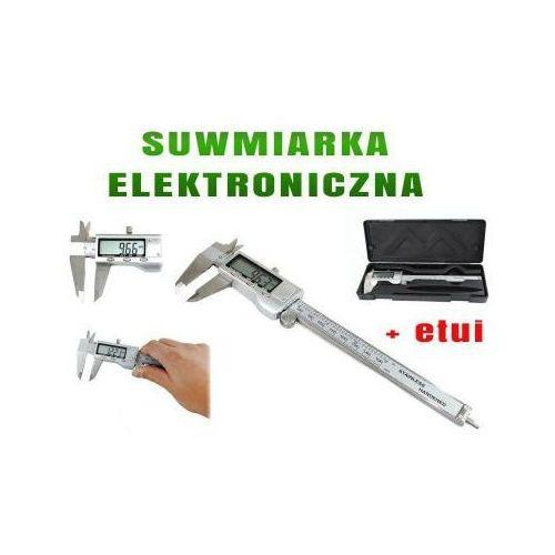 Y.c.j. electronic ltd. Suwmiarka metalowa elektroniczna z lcd + etui.