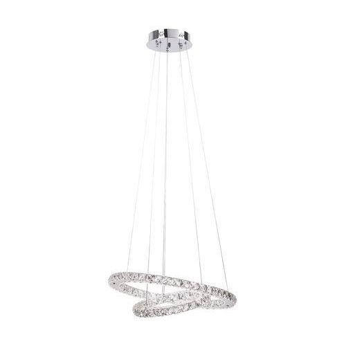 Lampa wisząca zwis carrie 1x36w led chrom / kryształ 2442 marki Rabalux