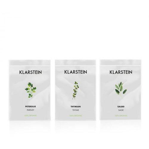Klarstein growlt seeds europe | 3 paczki nasion: tymianek / szałwia / pietruszka