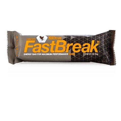 Baton fast break 56 g wyprodukowany przez Forever living products