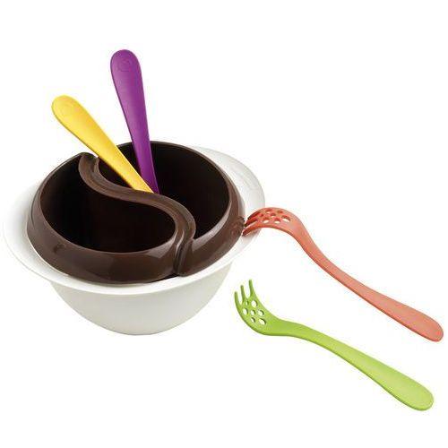 Mastrad Zestaw do czekoladowego fondue z kuchenki mikrofalowej (ma-f47921) (3485990479215)