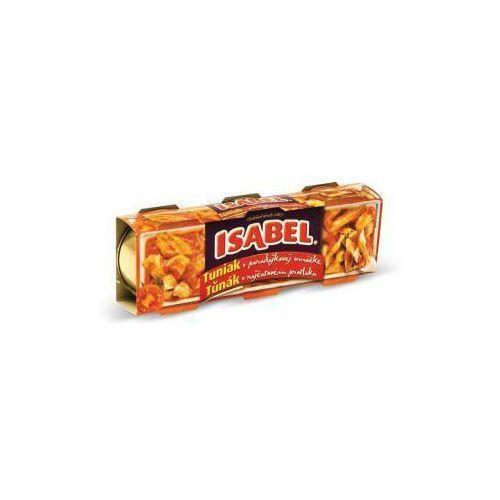 Łosoś Tuńczyk w sosie pomidorowym 3x80 g isabel (8410111000707)