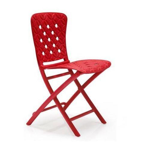 Nardi s.r.l. Krzesło składane zac spring - czerwony