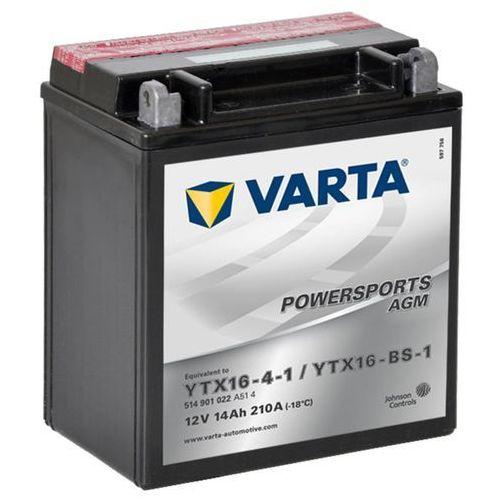 Varta akumulator agm 12 v 14 ah ytx16-4-1 / ytx16-bs-1 (4016987127506)