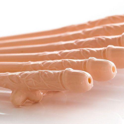 Cieliste słomki peniski - na sztuki