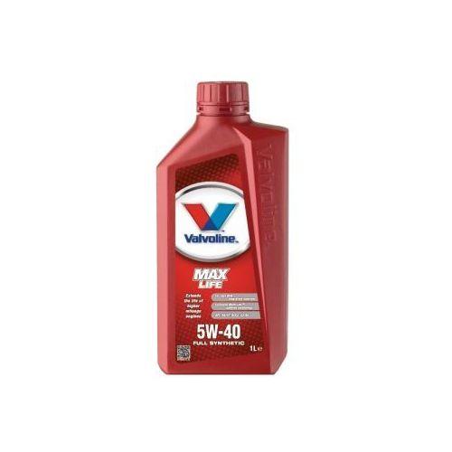 Valvoline MaxLife Synthetic 5W-40 olej silnikowy 1 Litr Puszka
