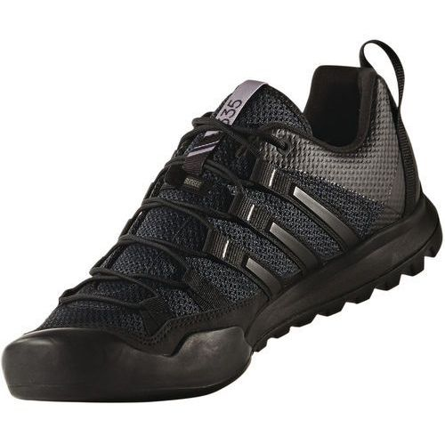 Adidas terrex solo buty mężczyźni szary/czarny uk 8   42 2018 buty podejściowe