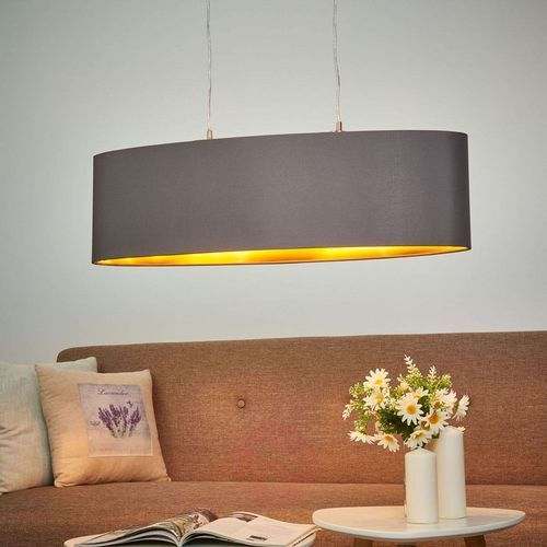 Eglo 31614 - lampa wisząca maserlo 2xe27/60w/230v (9002759316143)