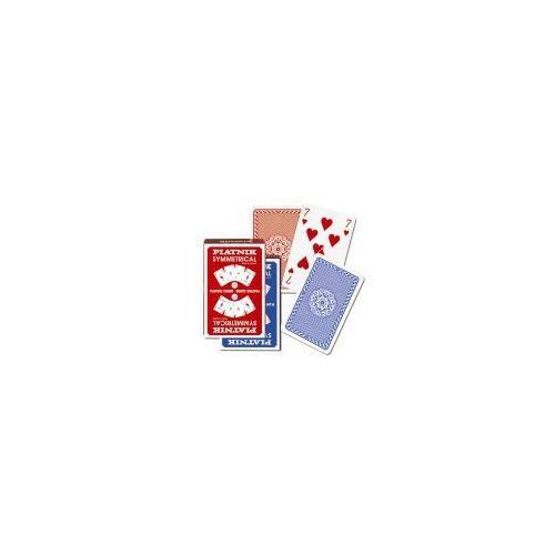 Karty brydżowe 1331 symmetrical bridge blue - poznań, hiperszybka wysyłka od 5,99zł! marki Piatnik