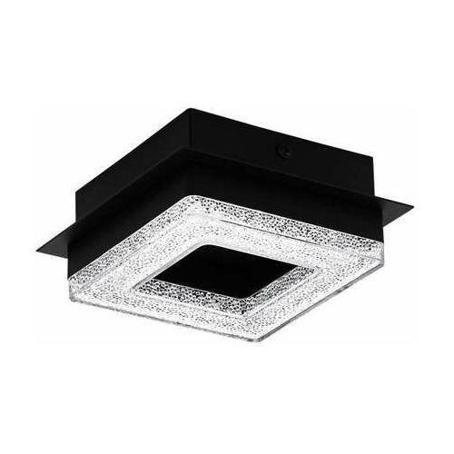 fradelo 1 99324 plafon lampa sufitowa 1x4w led czarny/transparentny marki Eglo