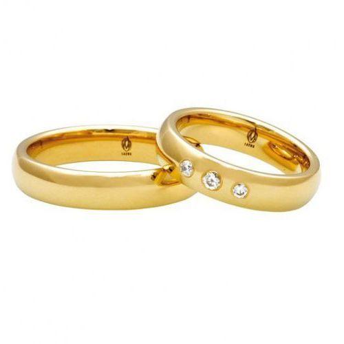 Łazur Obrączki ślubne  model k28 (komplet), kategoria: obrączki ślubne