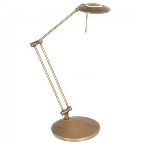 zodiac lampa stołowa led brązowy, 4-punktowe - klasyczny - obszar wewnętrzny - zodiac - czas dostawy: od 10-14 dni roboczych marki Steinhauer