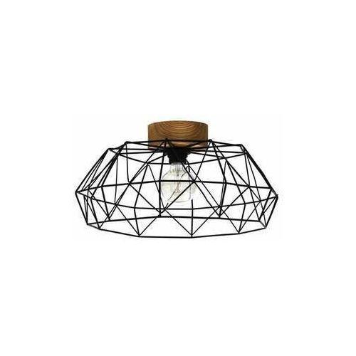 Eglo Padstow 43363 lampa wisząca zwis 1x60W E27 czarna, kolor Czarny