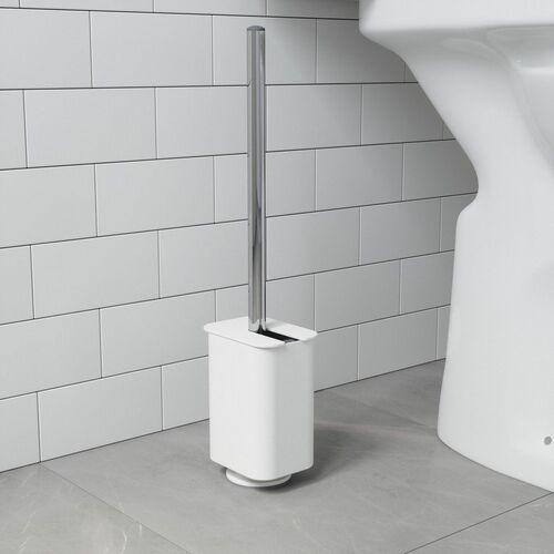 Umbra - szczotka do toalety flex, sure-lock, biała