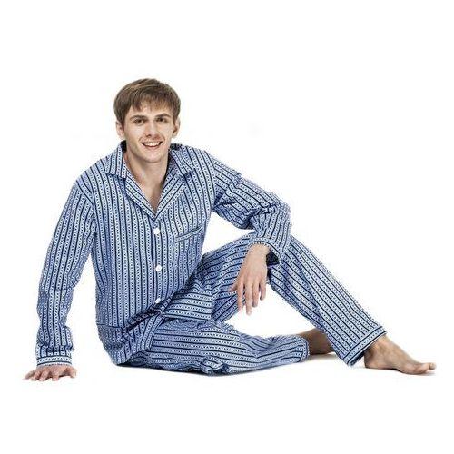 Piżama flanela m-3xl rozmiar: 2xl(188/126), kolor: wielokolorowy, kuba marki Kuba