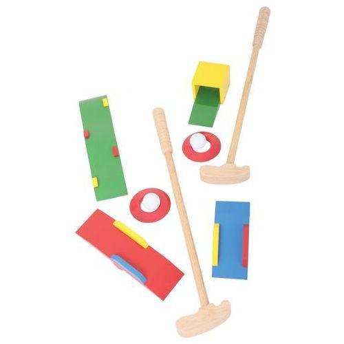 drewniany zestaw mini golf dla dzieci marki Bigjigs toys