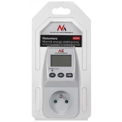Maclean Miernik energii elektrycznej - watomierz Energy MCE06 230V/16A 2-taryfowy