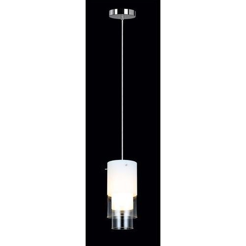 Lampa wisząca christo mdm2042-1 zwis 1x40w e14 chrom/biała marki Italux