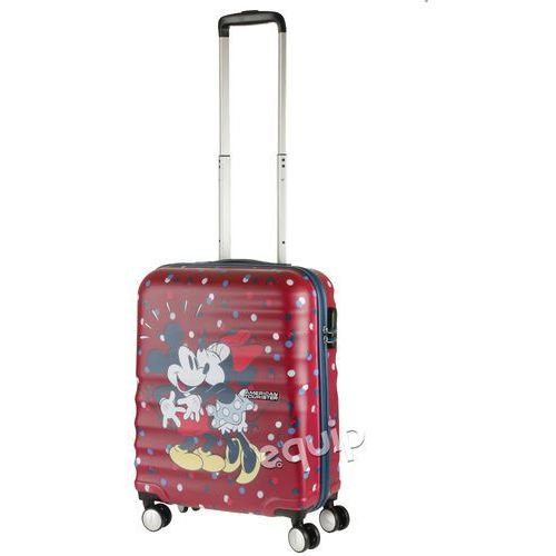 Walizka kabinowa American Tourister Wavebreaker Disney - Minnie loves Micky (5414847746796)