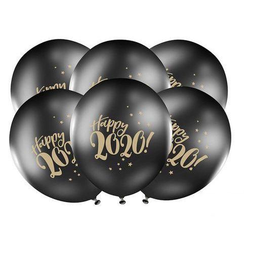 Balony happy 2020! - 30 cm - 50 szt. marki Party deco