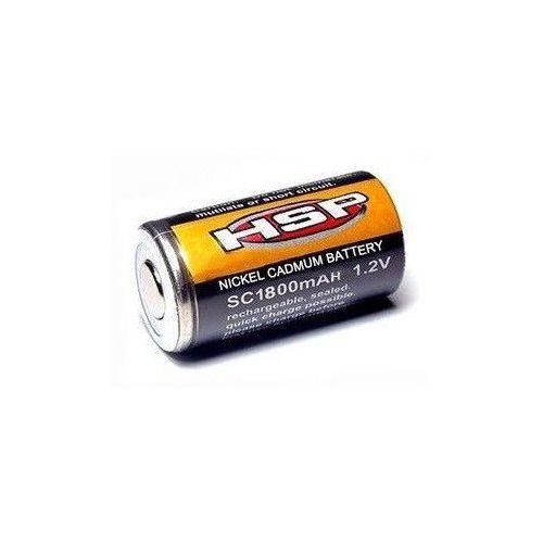 Akumulator (ogniwo) klipsa do świec ni-cd 1.2v 1800mah marki Hsp