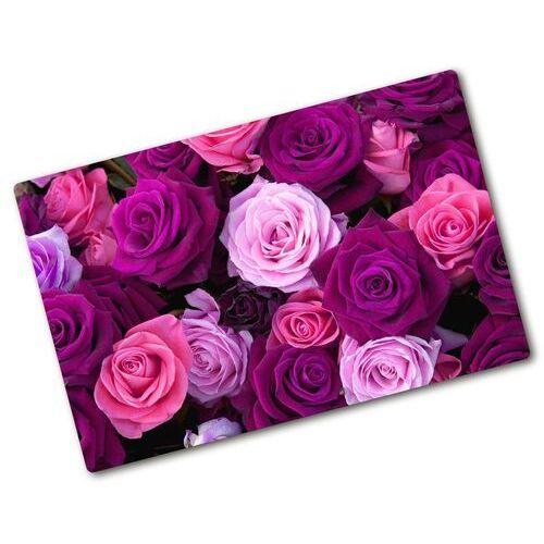 Deska do krojenia szklana Róże