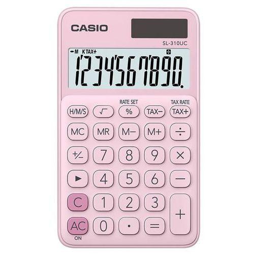 Kalkulator CASIO SL-310UC-PK Różowy, SL-310UC-PK-S