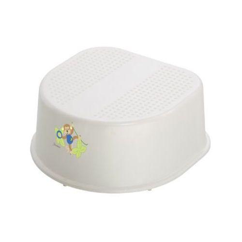 Rotho stopień bella bambina kolor perłowobiała-kremowy z nadrukiem sterntaler-anton marki Rotho babydesign