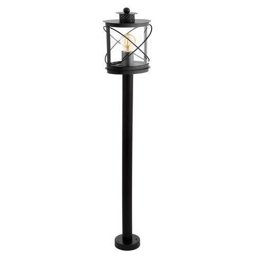 Lampa stojąca Eglo Hilburn 94844 oprawa zewnętrzna 1x60W E27 IP44 czarna