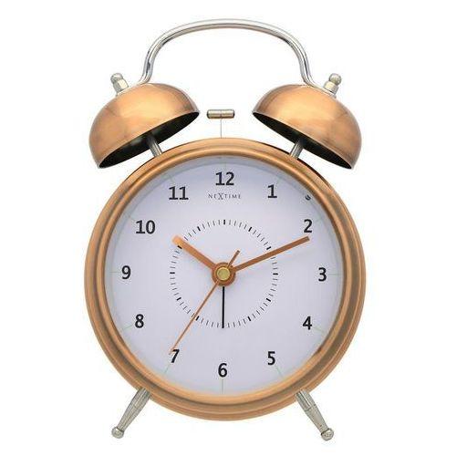 Budzik Wake Up miedziany 15 cm