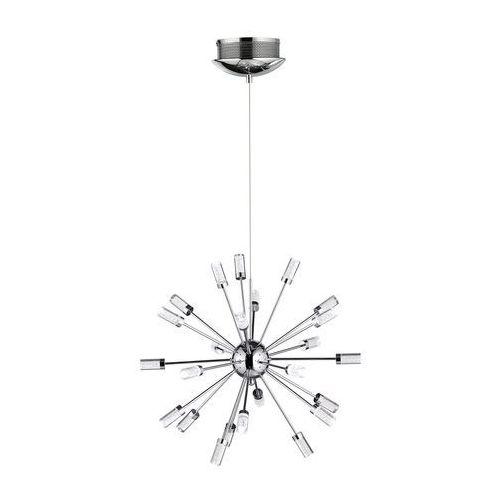 Wofi CLEO lampa wisząca LED Chrom, 1-punktowy - Nowoczesny - Obszar wewnętrzny - CLEO - Czas dostawy: od 4-8 dni roboczych, kolor Silber
