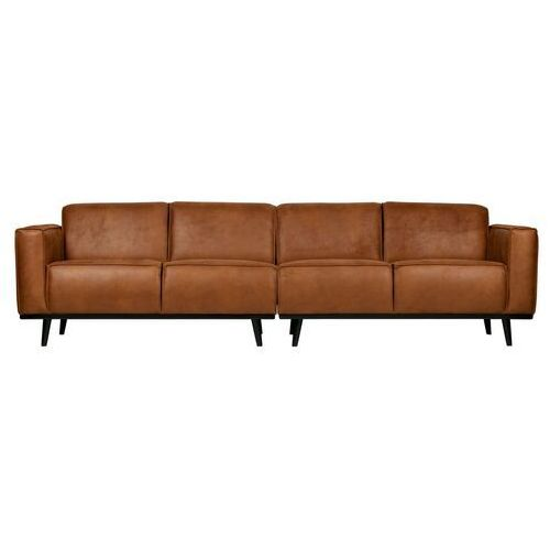 Be Pure Sofa Statement 4-osobowa 280 cm ekoskóra koniakowa 378657-09 (8714713088560)