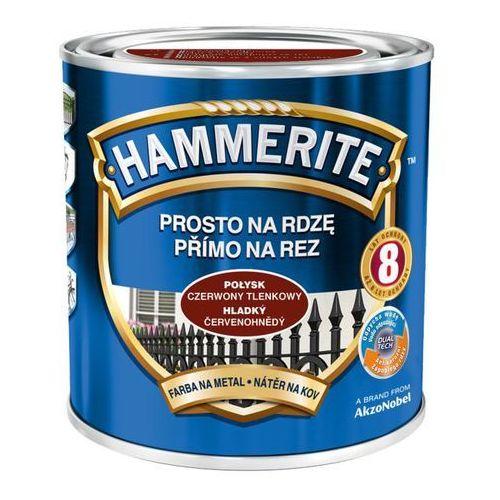 Hammerite Prosto na rdzę - efekt połysk czerwony tlenkowy 0,7l
