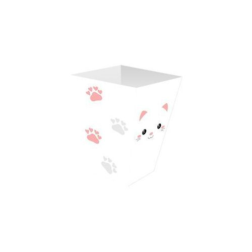 Congee.pl Pudełka na popcorn słodki kotek - 6 szt. (5907509927928)