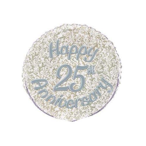 Unique Balon foliowy urodzinowy 25 rocznica - 47 cm
