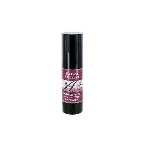 Olejek do masażu z feromonami - o zapachu jeżyn Feromon Hot Oil Blackberry