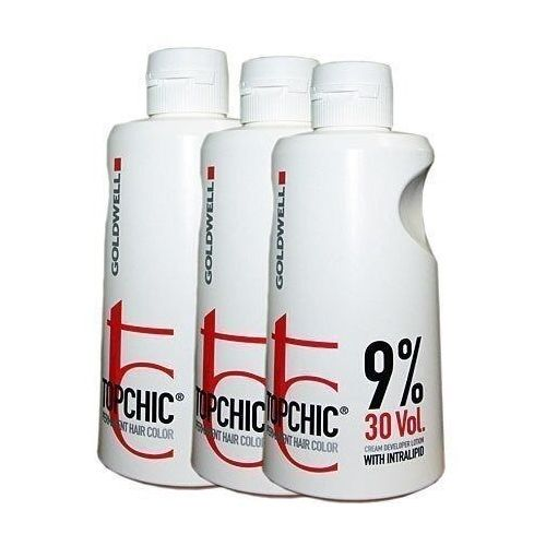 Goldwell topchic lotion, emulsja utleniająca 3%, 6%, 9%, 12% - 1000ml 6 % - 20 vol.