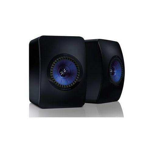 Kef ls50 kolor: czarny mat