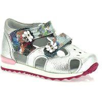 Sandały dla dzieci 06160 - srebrny ||kolorowy marki Kornecki