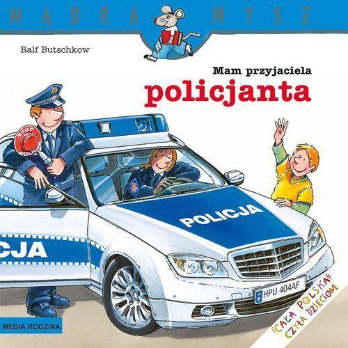 """Książka """"mam przyjaciela policjanta"""" 9788372784070 marki Wydawnictwo media rodzina"""