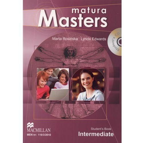 Matura Masters Intermediate Podręcznik, Marta Rosińska, Lynda Edwards