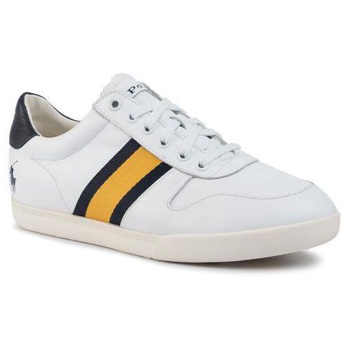 Sneakersy - 809754874002 white/newport navy/gold bugle marki Polo ralph lauren