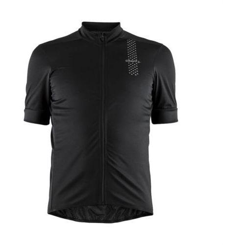 Koszulka z krótkim rękawem rise jersey czarny / płeć: męskie / rozmiar: m marki Craft