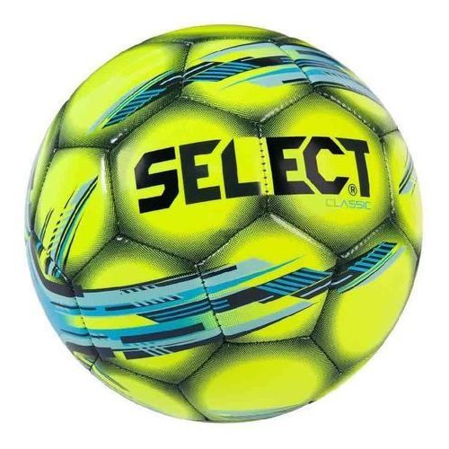 Select Piłka nożna classic 4 żółto - niebieska (5703543142552)