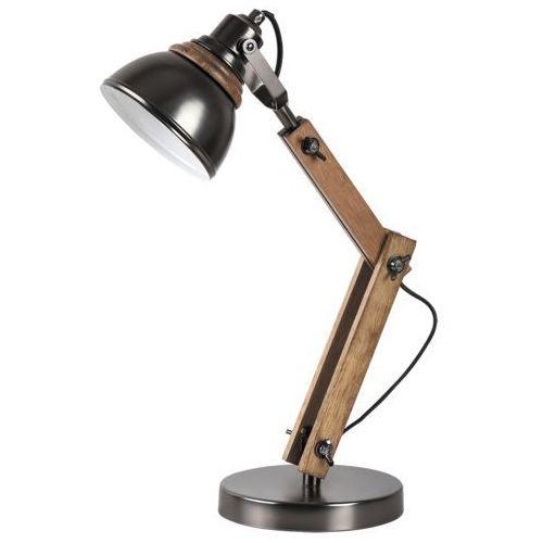 Rabalux 4199 aksel lampa biurkowa dewniana industrial