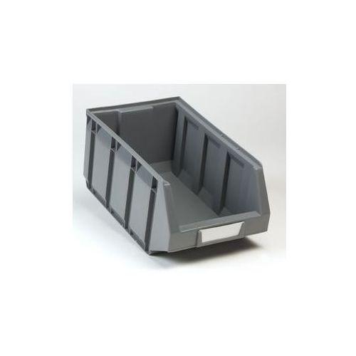 Otwarty pojemnik magazynowy z polietylenu,dł. x szer. x wys. 345 x 205 x 164 mm marki Vipa